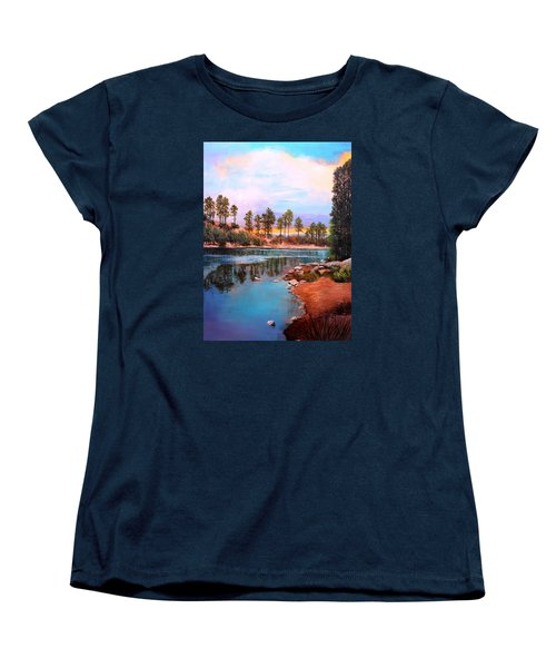 Rose Canyon Lake 2 Women's T-Shirt (Standard Cut) by M Diane Bonaparte