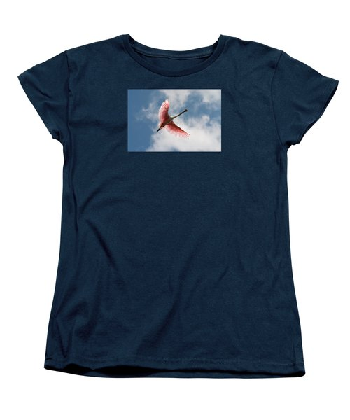 Roseate Soaring Women's T-Shirt (Standard Cut) by Paul Rebmann