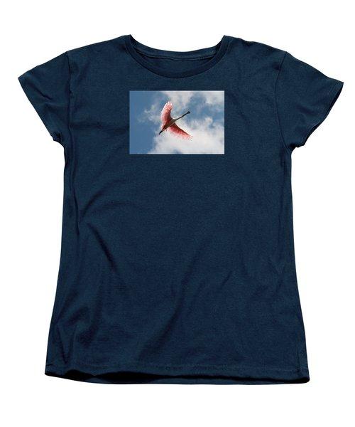 Roseate Soaring Women's T-Shirt (Standard Cut)