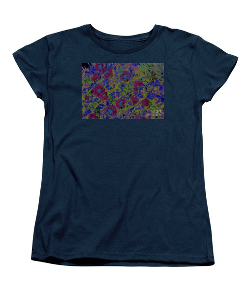 Women's T-Shirt (Standard Cut) featuring the photograph Roses By Jrr by First Star Art