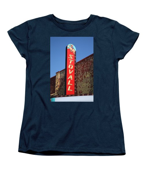 Route 66 - Stovall Theater Women's T-Shirt (Standard Cut)