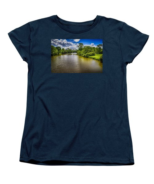 Women's T-Shirt (Standard Cut) featuring the photograph Royal River by Mark Myhaver