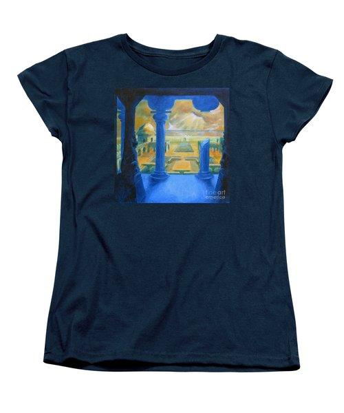 Ruins Of Lankapura Women's T-Shirt (Standard Cut) by Samantha Geernaert
