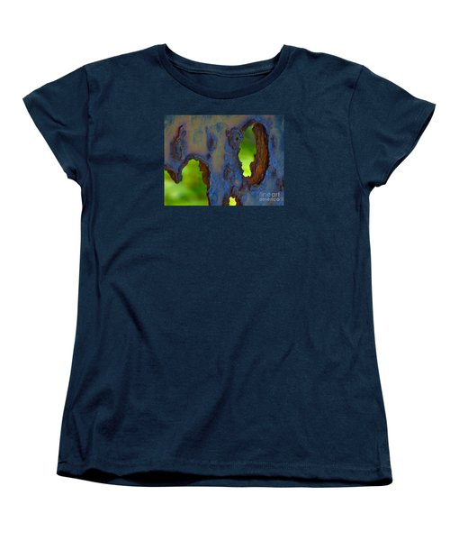Women's T-Shirt (Standard Cut) featuring the photograph Rust In Peace by Joy Hardee