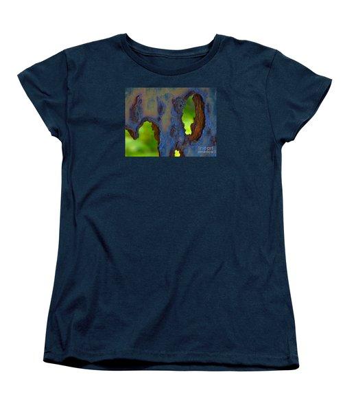 Rust In Peace Women's T-Shirt (Standard Cut) by Joy Hardee