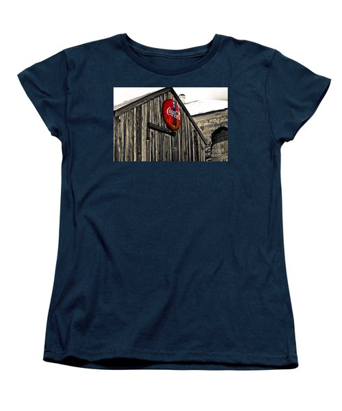 Rustic Women's T-Shirt (Standard Cut) by Scott Pellegrin