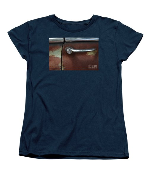 Women's T-Shirt (Standard Cut) featuring the photograph Rusty Rat by Christiane Hellner-OBrien