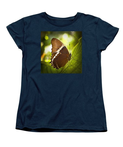 Women's T-Shirt (Standard Cut) featuring the photograph Rusty Tip Butterfly by Bradley R Youngberg