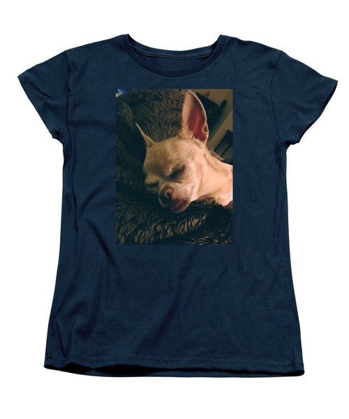 Sacked Out Women's T-Shirt (Standard Cut) by Laurie Search