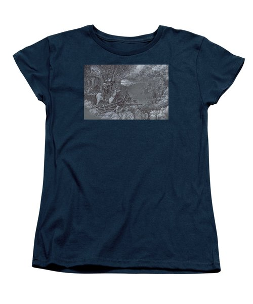 Saddle Sniper Women's T-Shirt (Standard Cut) by Scott and Dixie Wiley