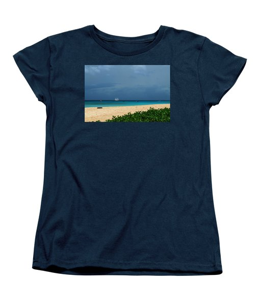 Sail Away Women's T-Shirt (Standard Cut) by Catie Canetti