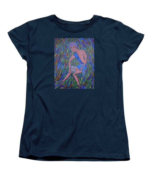 Saint Mark Women's T-Shirt (Standard Cut) by Marie Schwarzer