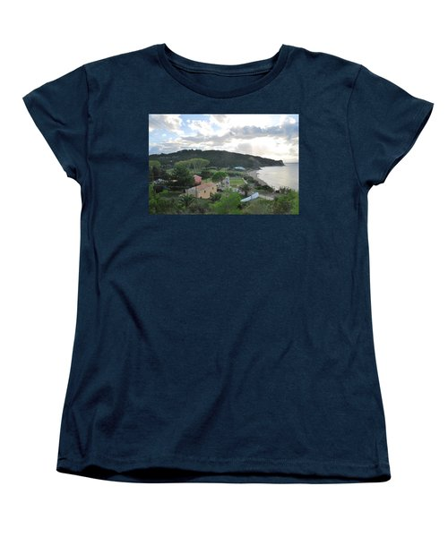 Women's T-Shirt (Standard Cut) featuring the photograph Saint Nicholas 1822 by George Katechis