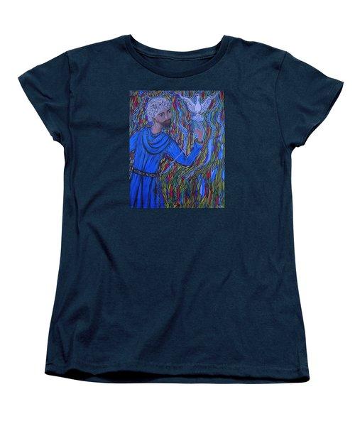 Saint Peter Women's T-Shirt (Standard Cut) by Marie Schwarzer
