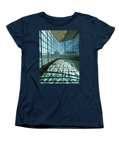 Women's T-Shirt (Standard Cut) featuring the photograph Salt Lake City Library by Ely Arsha