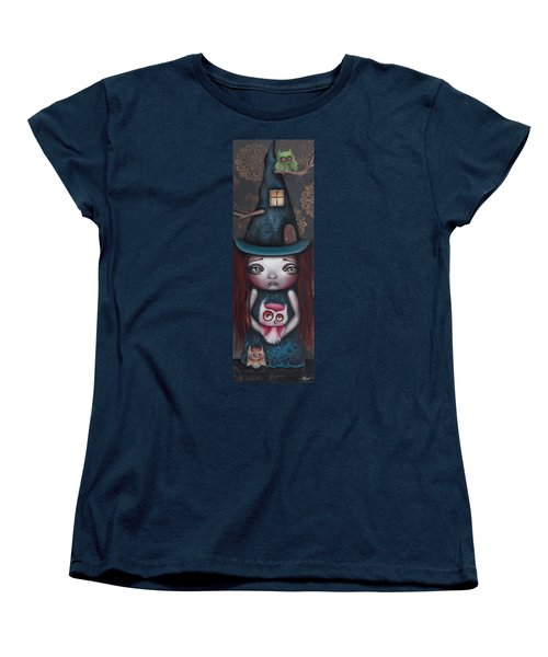 Samantha Women's T-Shirt (Standard Cut) by Abril Andrade Griffith