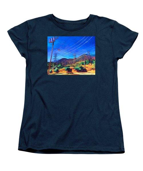 San Gabriel Power Women's T-Shirt (Standard Cut) by Bonnie Lambert