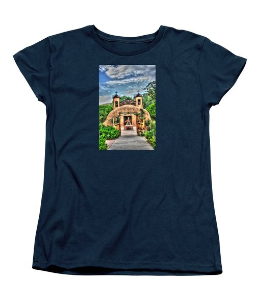Santuario De Chimayo Women's T-Shirt (Standard Cut) by Lanita Williams
