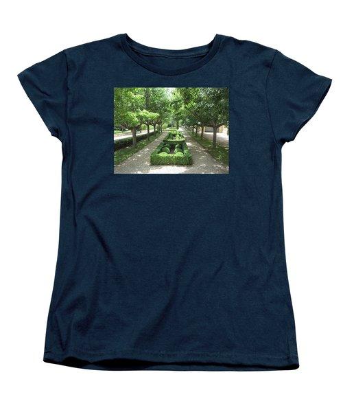 Women's T-Shirt (Standard Cut) featuring the photograph Sanctuary by Pema Hou