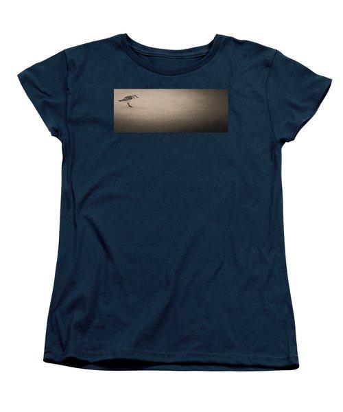 Sanderling On Vero Beach Women's T-Shirt (Standard Cut)