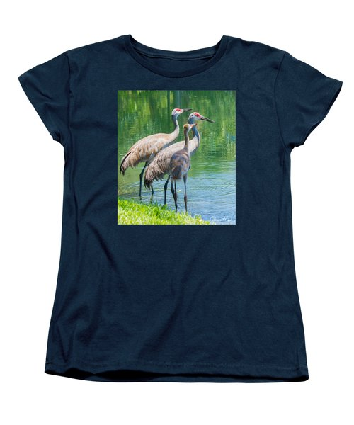 Mom Look What I Caught Women's T-Shirt (Standard Cut) by Susan Molnar