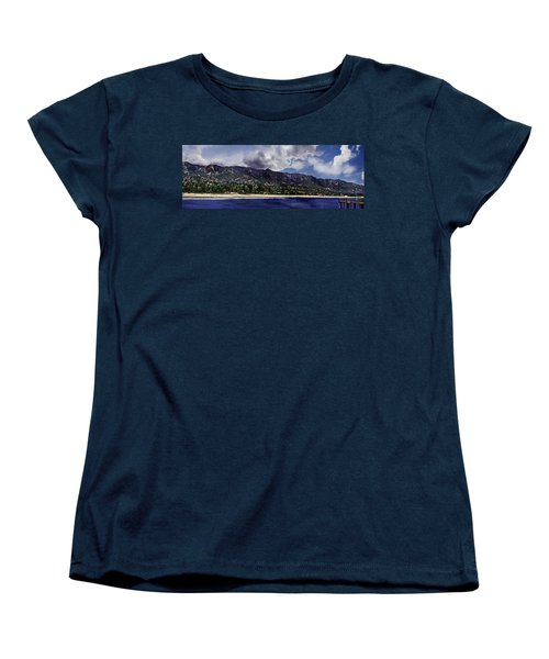 Santa Barbara Panorama Women's T-Shirt (Standard Cut) by Danuta Bennett
