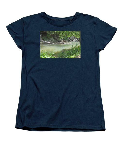 Saturday Afternoon Women's T-Shirt (Standard Cut) by Judith Morris