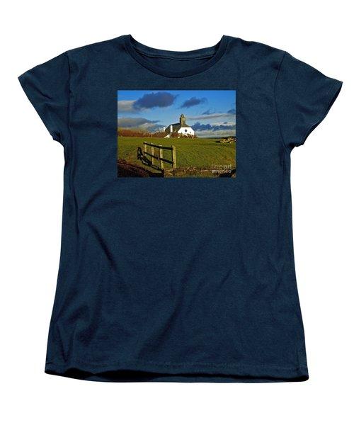 Scene From Giants Causeway Women's T-Shirt (Standard Cut) by Nina Ficur Feenan