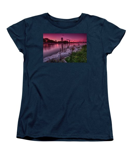 Scenic Sunset Women's T-Shirt (Standard Cut) by Jonah  Anderson