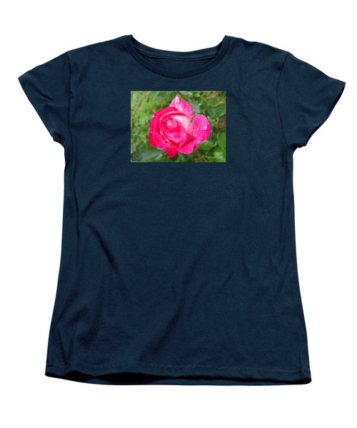 Women's T-Shirt (Standard Cut) featuring the photograph Scented Rose by Ramona Matei