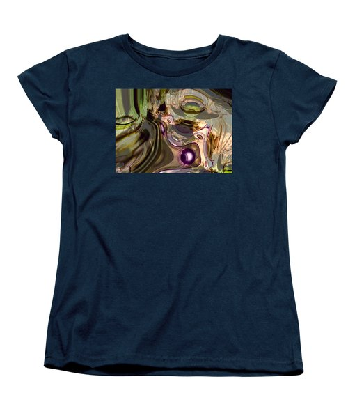 Women's T-Shirt (Standard Cut) featuring the digital art Sci-fi Fury by Richard Thomas