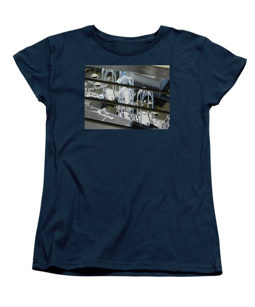 Science From The Top Women's T-Shirt (Standard Cut) by David Trotter