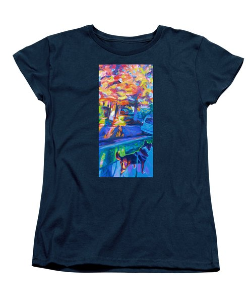 Scout In The Morning Women's T-Shirt (Standard Cut) by Bonnie Lambert