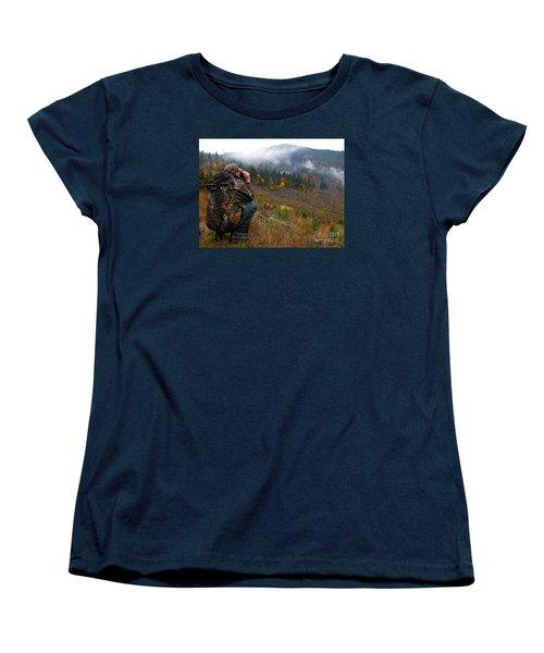 Women's T-Shirt (Standard Cut) featuring the photograph Scouting by Nick  Boren