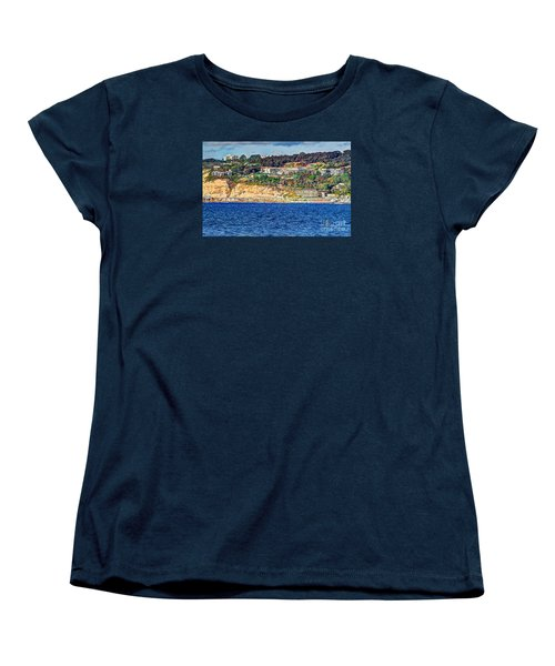 Women's T-Shirt (Standard Cut) featuring the photograph Scripps Institute Of Oceanography by Jim Carrell