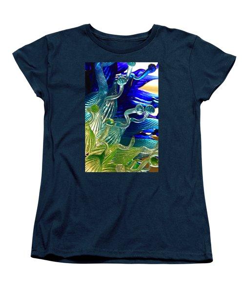 Sea Glass Women's T-Shirt (Standard Cut) by Karon Melillo DeVega