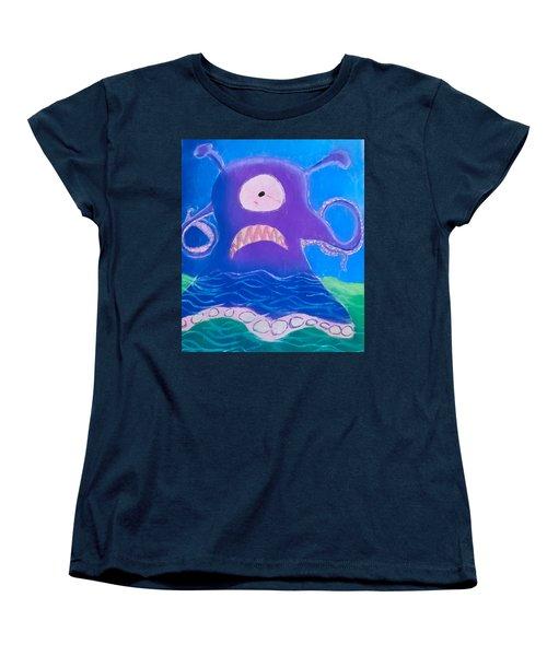 Monsterart Sludge Women's T-Shirt (Standard Cut)