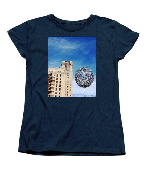 Sears Crosstown Memphis Women's T-Shirt (Standard Cut) by Lizi Beard-Ward