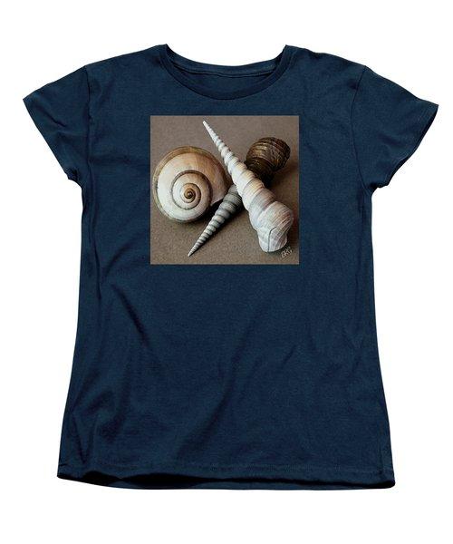 Seashells Spectacular No 24 Women's T-Shirt (Standard Cut) by Ben and Raisa Gertsberg