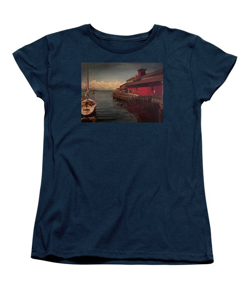 Seattle Waterfront Women's T-Shirt (Standard Cut) by Thu Nguyen