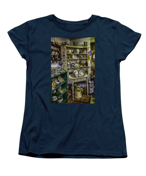 Second Hand Rose Women's T-Shirt (Standard Cut) by Lynn Palmer