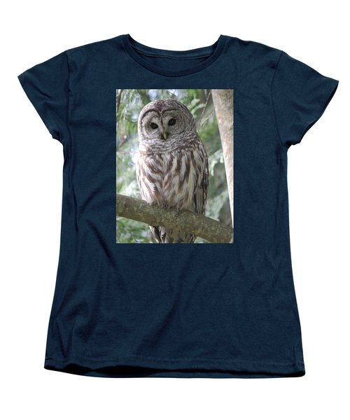 Security Cam Women's T-Shirt (Standard Cut) by Randy Hall