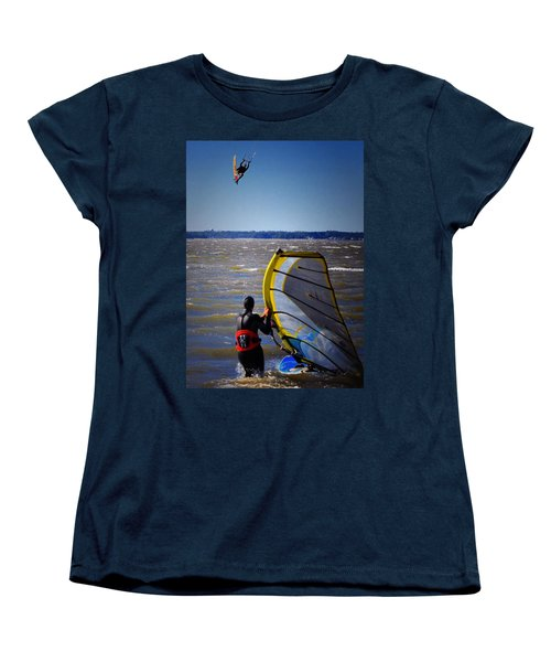 See Ya Roun Women's T-Shirt (Standard Cut) by Robert McCubbin