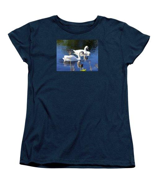 Women's T-Shirt (Standard Cut) featuring the photograph Serenade Of  Love by Lingfai Leung