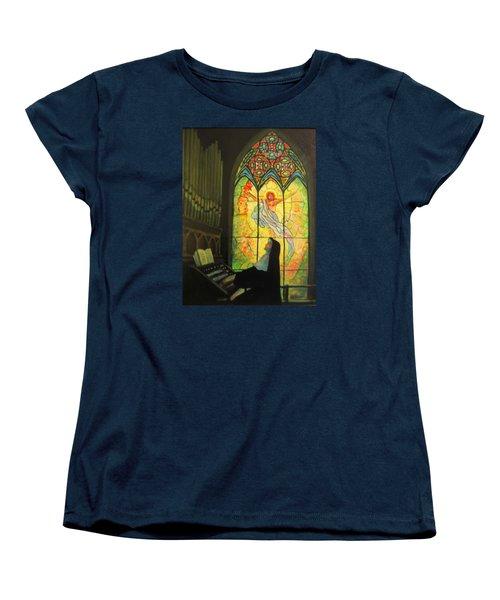 Serenity  Women's T-Shirt (Standard Cut) by Donna Tucker