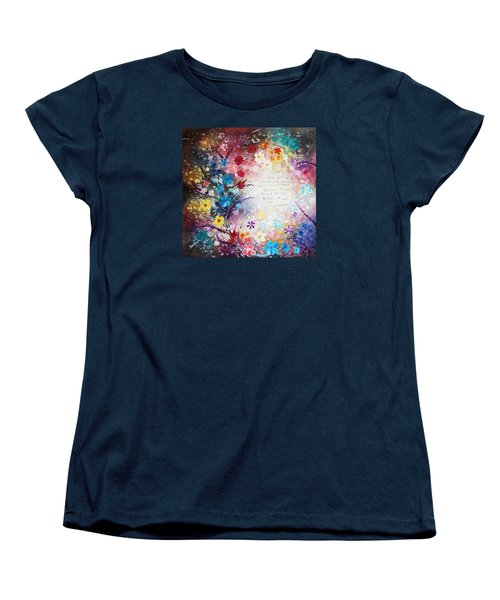 Serenity Prayer Women's T-Shirt (Standard Cut) by Patricia Lintner