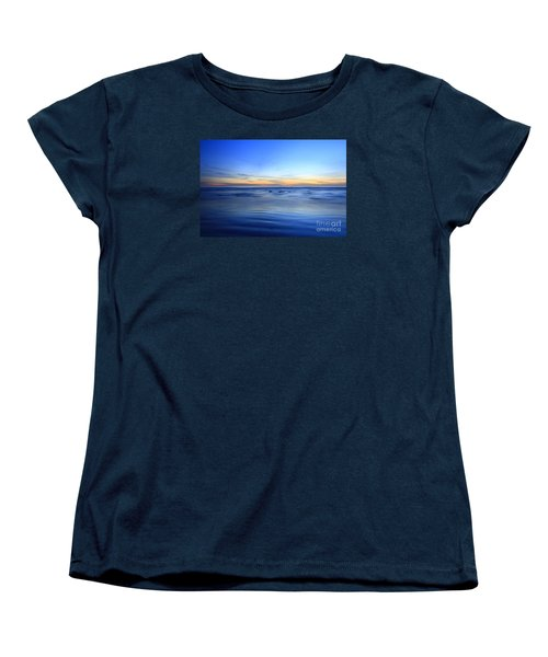 Women's T-Shirt (Standard Cut) featuring the photograph Rocks In Surf Carlsbad by John F Tsumas