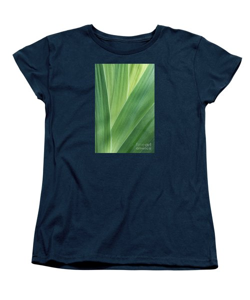 Women's T-Shirt (Standard Cut) featuring the photograph Shades Of Green #2 by Judy Whitton