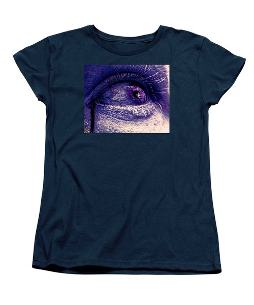 Women's T-Shirt (Standard Cut) featuring the painting Shades Of Sympathy by David Mckinney