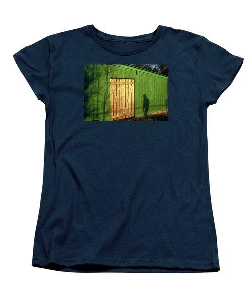 Shadow Man Women's T-Shirt (Standard Cut)